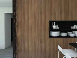 Maison Neuve Cuisine moderne par MARTIN Intérieur Moderne