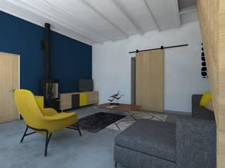 Décoration d'un salon Salon scandinave par MARTIN Intérieur Scandinave