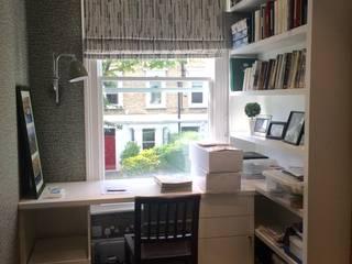 Ashchurch Tce W6 Modern Study Room and Home Office by fleur ward interior design Modern