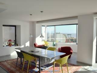 NAV Salon moderne par Matthieu GUILLAUMET Architecte Moderne
