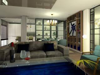 Salón: Salones de estilo  de Arqbellytura