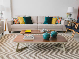 Projeto Araraquara Salas de estar modernas por Marina La-Gatta Design de Interiores Moderno