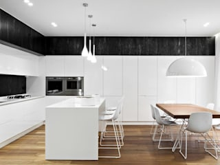 casa SG: Cucina in stile in stile Moderno di m12 architettura design