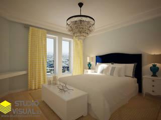 Diseño de habitación principal Dormitorios de estilo clásico de Studio Visual 3d Clásico