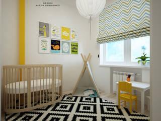 Детская в скандинавском стиле: Детские комнаты в . Автор – ALENA SERGIENKO