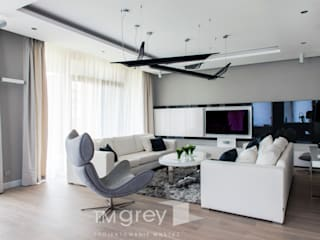 TiM Grey Interior Design Modern living room