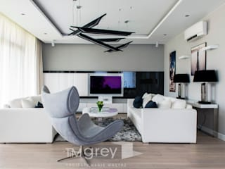 TiM Grey Interior Design Living room