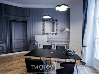 AT KEARNEY HQ in Poland od TiM Grey Interior Design