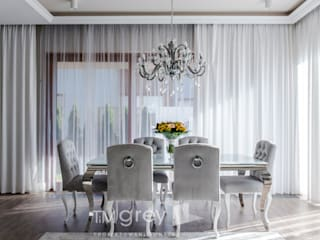 Dining room by TiM Grey Interior Design