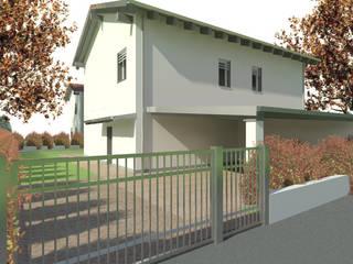 Villette unifamigliare e bifamigliare: Case in stile  di martina fossati architetto
