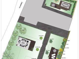 Progettazione giardino residenza privata: Giardino in stile  di Vivrevert et sport