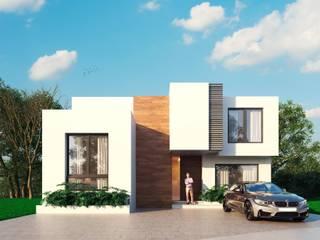 Casa Järv: Casas de estilo  por disain arquitectos