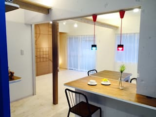 Eclectic style kitchen by 株式会社KIMURA bi-Art Eclectic
