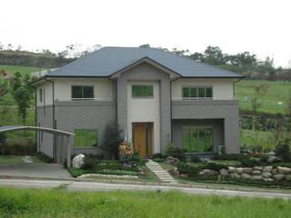 耐震節能健康住宅型綠建築在台灣實現 根據 日本新日鐵台灣公司 古典風
