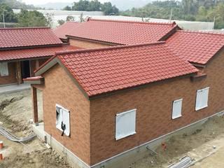 耐震節能健康住宅型綠建築在台灣實現:  房子 by 日本新日鐵台灣公司