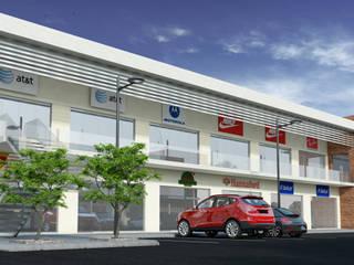 Projekty,  Centra handlowe zaprojektowane przez Acrópolis Arquitectura
