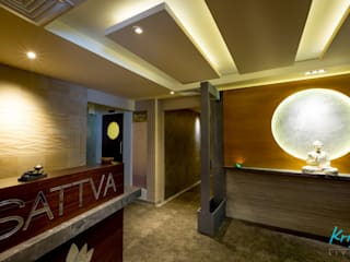 Sattva - Spa & Salon:  Commercial Spaces by KRIYA LIVING