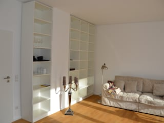 schrankwerk.de Living roomShelves White