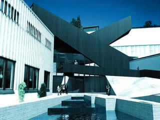 Alvar Aalto Museum: Musei in stile  di AMAART architects