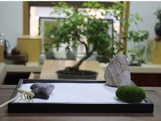 Zen sand table mochi