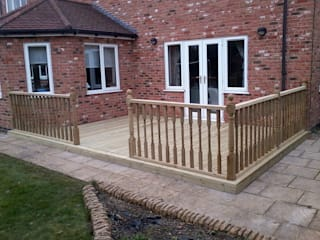 Home Decking :  Garden by N J Pacey Landscaping