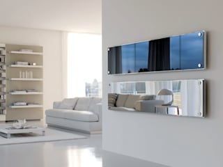 SCIROCCO H Living roomAccessories & decoration Iron/Steel Metallic/Silver
