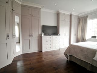 Alexandra Palace Patience Designs Studio Ltd Classic style bedroom