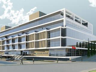 Acımert Mimarlık Danışmanlık Ltd. Şti. – Çukurova Belediyesi (Yarışma Önerisi), Adana:  tarz Ofis Alanları