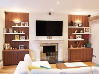 Marylebone Patience Designs Studio Ltd Living room
