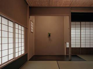 Media room by 柳瀬真澄建築設計工房 Masumi Yanase Architect Office, Modern