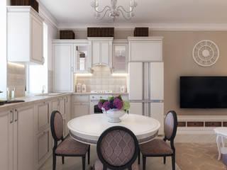 ТАУНХАУС, КЕМБРИДЖ, 120М2: Кухни в . Автор – Loft&Home