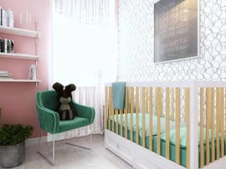 ТАУНХАУС, КЕМБРИДЖ 135М2, ЭКО-LOFT: Детские комнаты в . Автор – Loft&Home