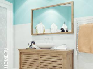 ТАУНХАУС, БРИСТОЛЬ 148М2: Ванные комнаты в . Автор – Loft&Home