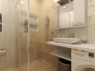 КВАРТИРА, ЖК НОВОРИЖСКИЙ, НЕОКЛАССИКА: Ванные комнаты в . Автор – Loft&Home
