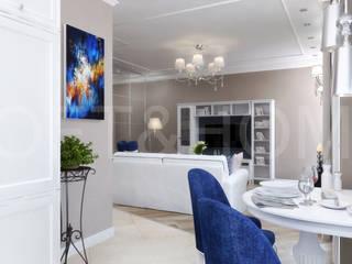 КВАРТИРА, ЖК НОВОРИЖСКИЙ: Столовые комнаты в . Автор – Loft&Home