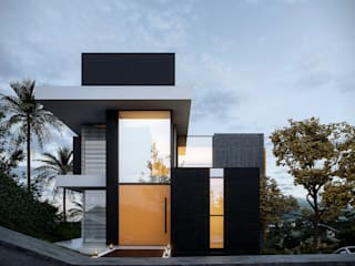 Casas de estilo  por Gramaglia Arquitetura
