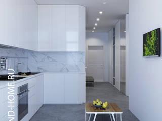 КВАРТИРА, ЖК НОВОРИЖСКИЙ, 74М2: Кухни в . Автор – Loft&Home