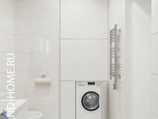 КВАРТИРА, ЖК НОВОРИЖСКИЙ, 74М2: Ванные комнаты в . Автор – Loft&Home