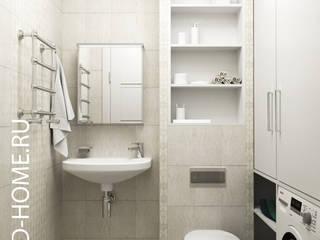 КВАРТИРА, ЖК НОВОРИЖСКИЙ, 86М2: Ванные комнаты в . Автор – Loft&Home