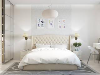 КВАРТИРА, ЖК НОВОРИЖСКИЙ, 86М2: Спальни в . Автор – Loft&Home