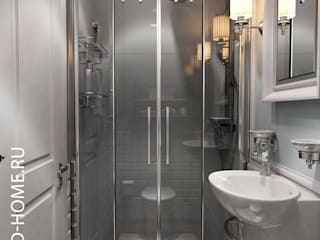ТАУНХАУС, АКАДЕМИЯ ПАРК: Ванные комнаты в . Автор – Loft&Home
