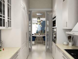 ТАУНХАУС, АКАДЕМИЯ ПАРК: Кухни в . Автор – Loft&Home