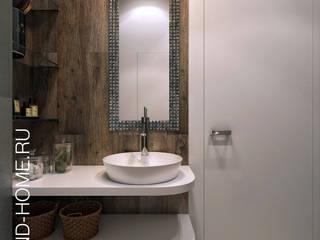 ТАУНХАУС, КЕМБРИДЖ, 165М2: Ванные комнаты в . Автор – Loft&Home