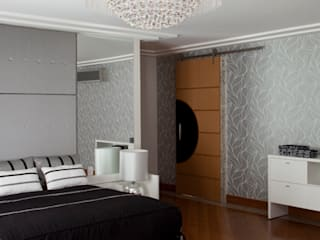 Modern style bedroom by DecorArquitetura - Luciana Corrêa e Elaine Delegredo Modern