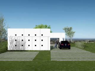 Vivienda LOU: Casas de estilo  por BDB Arquitectura,Moderno