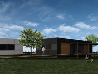 Vivienda GO: Casas de estilo  por BDB Arquitectura,Moderno