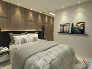 Dormitório Masculino por Vitral Studio Arquitetura Moderno
