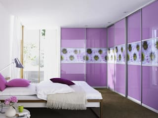 Sliding Door Wardrobes, Fitted Bedroom wardrobes, Hinged Wardrobes, Walk In Closets Bravo London Ltd Cuartos de estilo moderno