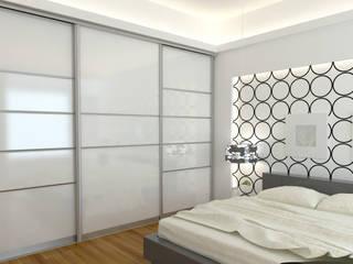 Sliding doors Bravo London Ltd Cuartos de estilo moderno