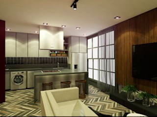 LOFT Cozinhas modernas por MQ Design Interiores Moderno